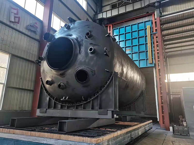 Horizontal Glass Lined Storage Tank